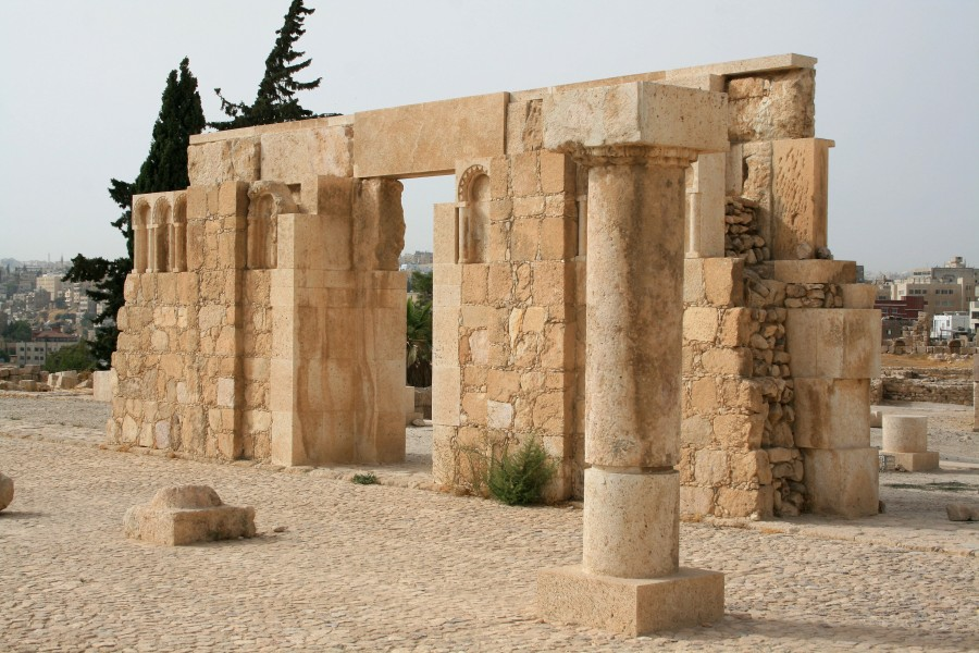 View of the Amman Citadel, Jordan4