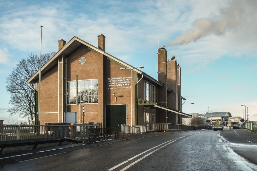 Water'pumping station Vissering