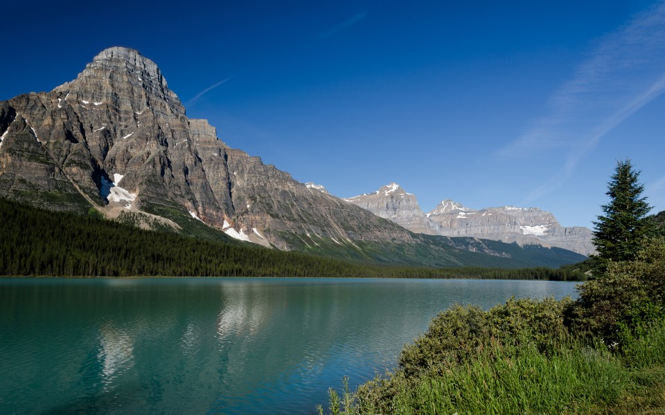 Waterfowl Lakes beim Icefields Parkway