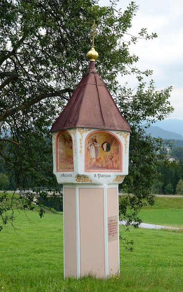 Wayside shrine, east of Wenigzell