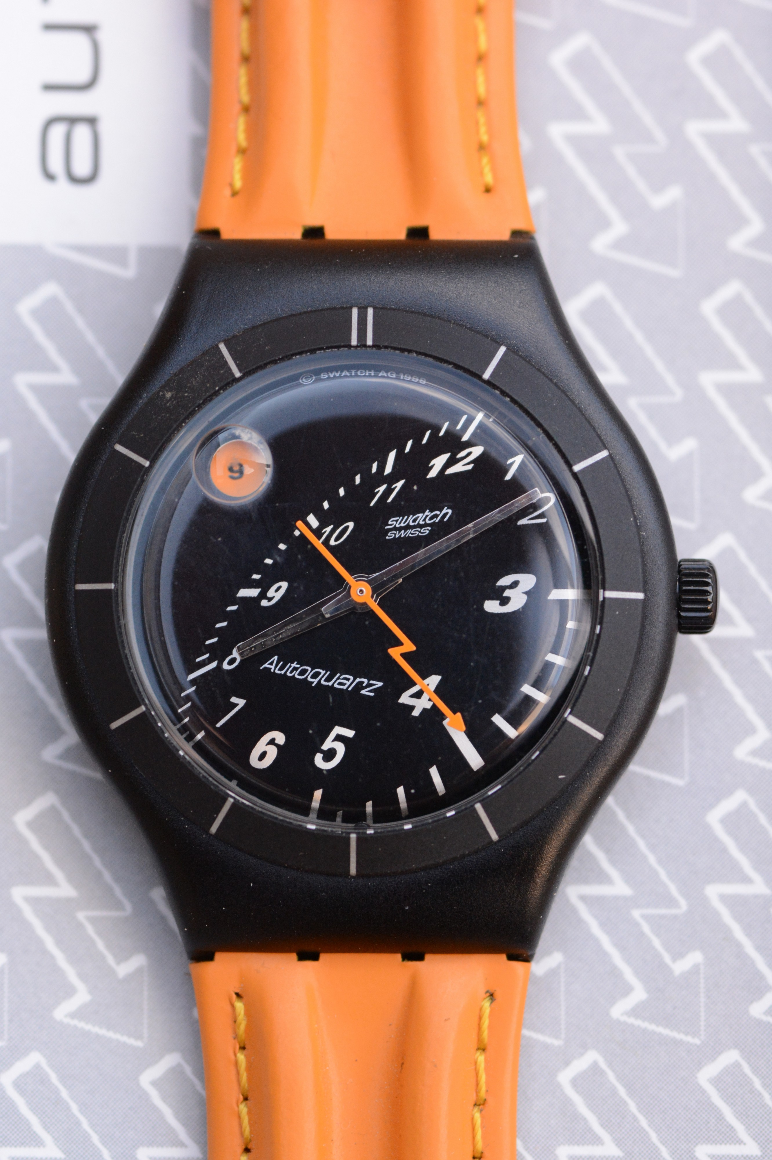 Swatch Swiss Autoquarz, 1998