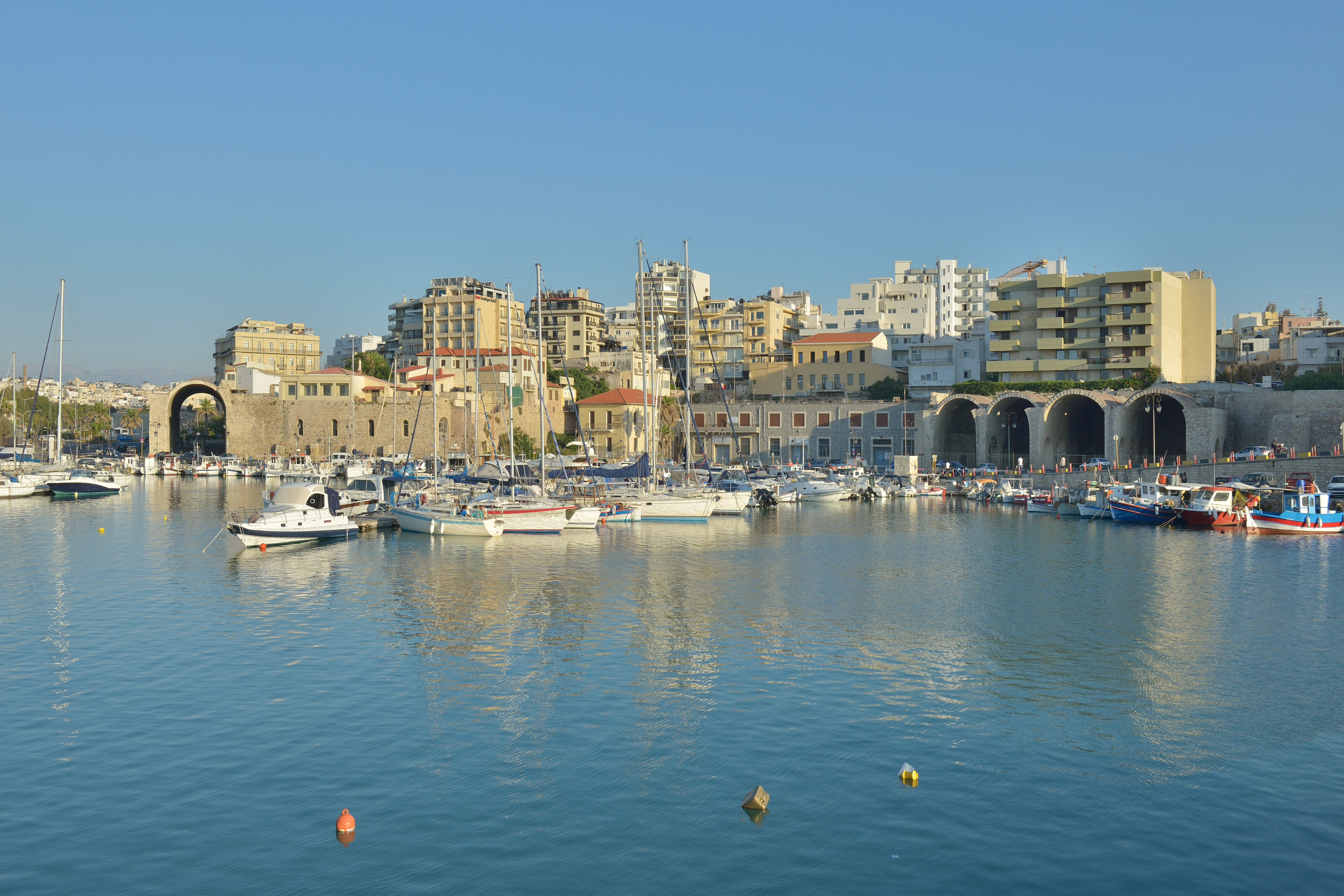 Venetian Arsenals in Heraklion Crete