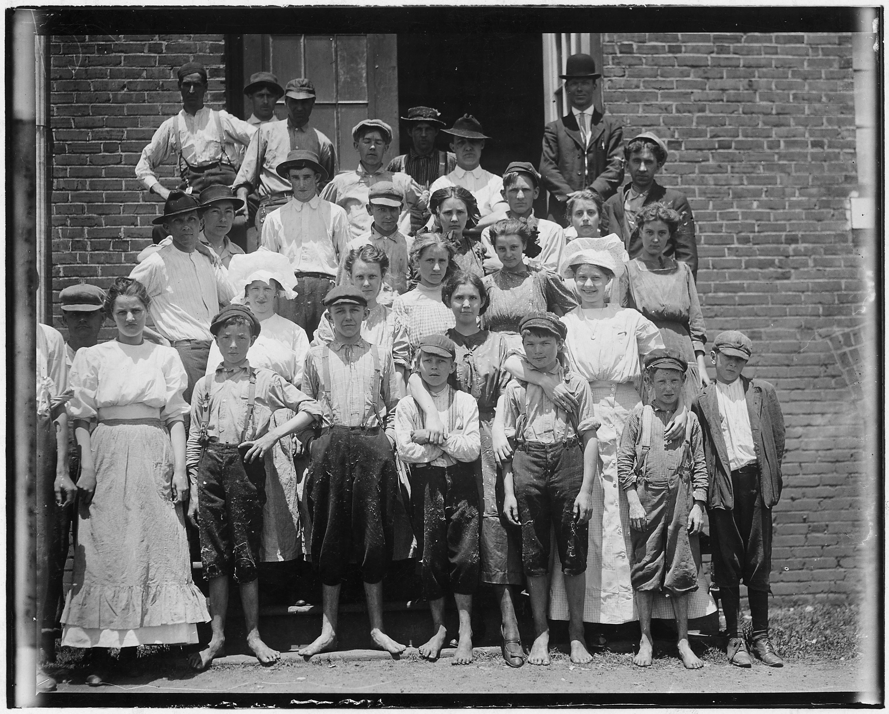 A typical group of workers in the Aragon Mills. Rock Hill, S.C. - NARA - 523537
