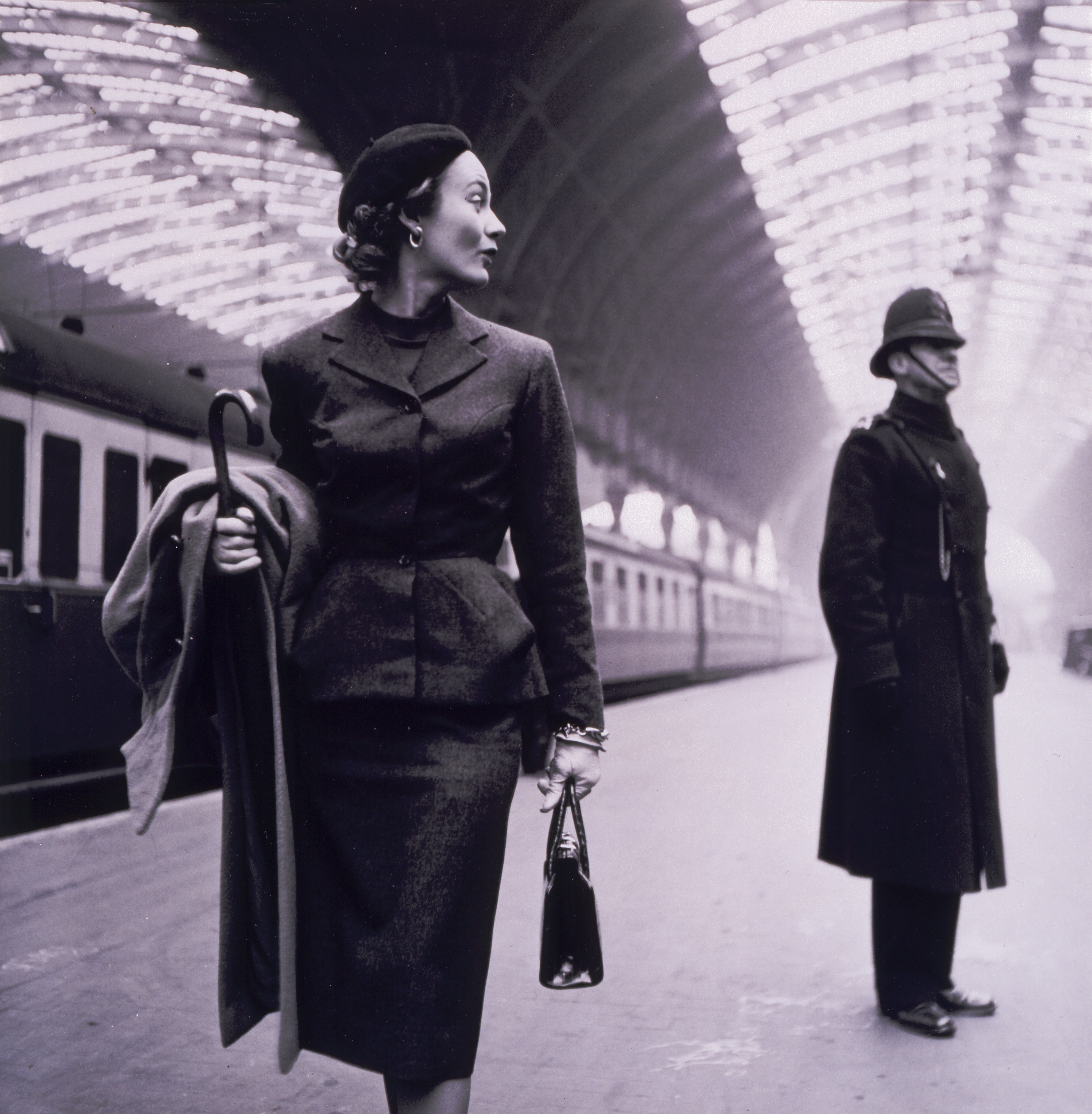 London Victoria Station by Toni Frissell 1951