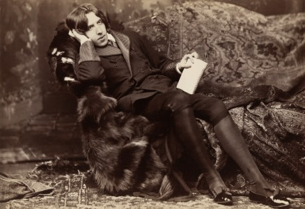 Oscar Wilde, photographic print on card mount: albumen
