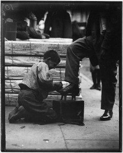 Bowery bootblack. New York City. - NARA - 523325