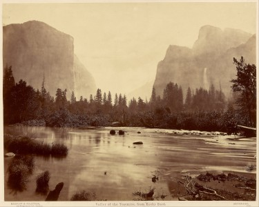 Eadweard J. Muybridge (American, born England - Valley of the Yosemite, from Rocky Ford - Google Art Project