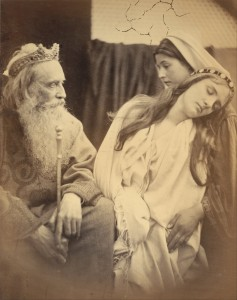 Julia Margaret Cameron (British, born India - Queen Esther before King Ahasuerus - Google Art Project