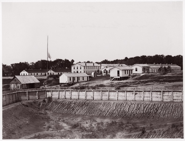 Geisboro D.C., Barracks at Fort Carroll MET DP70684