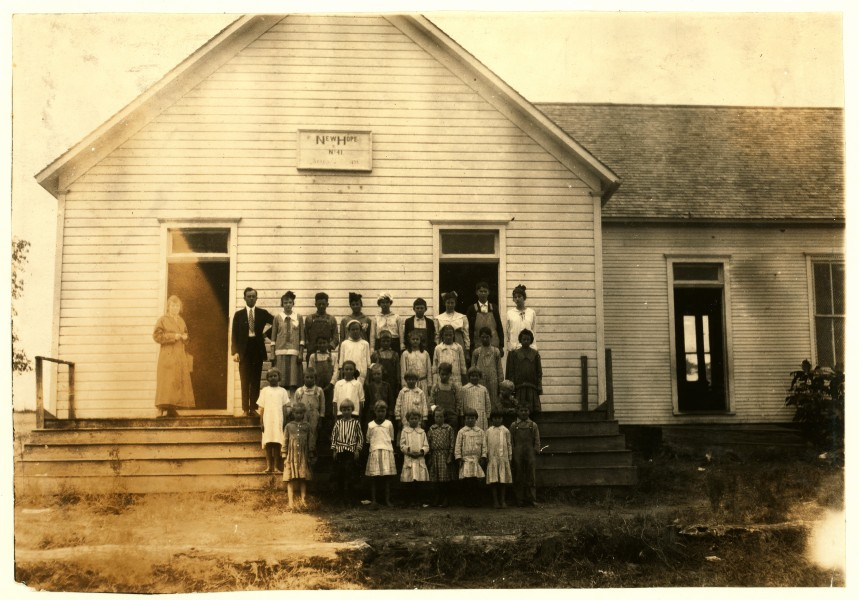 Lewis Hine, New Hope School no. 41, Pottawotamie County, Oklahoma, 1916
