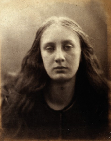 May Prinsep. Photograph by Julia Margaret Cameron. Wellcome V0027589