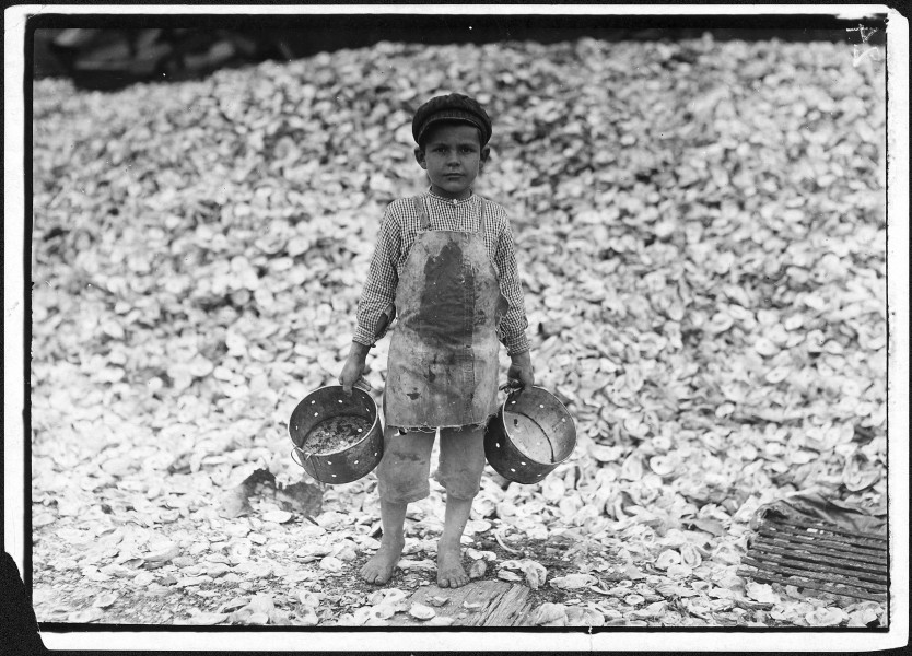 Photograph of a Young Shrimp Picker Named Manuel - NARA - 523394