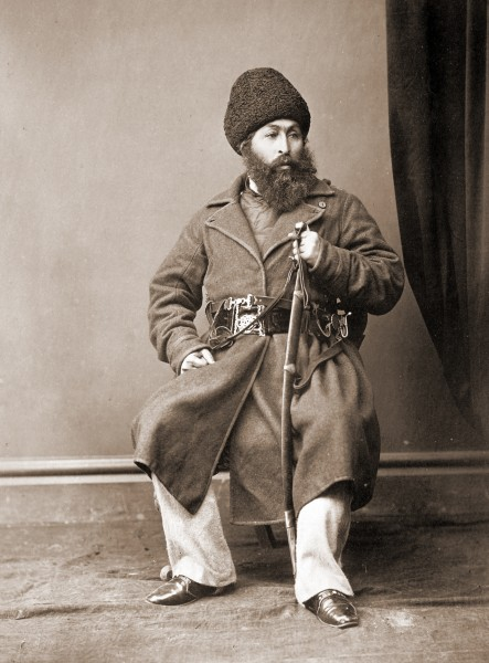 Sher Ali Khan of Afghanistan in 1869