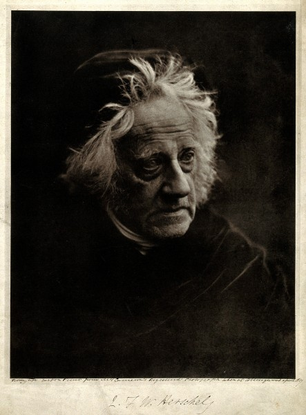 Sir John Herschel. Photograph by Julia Margaret Cameron, 186 Wellcome V0026543