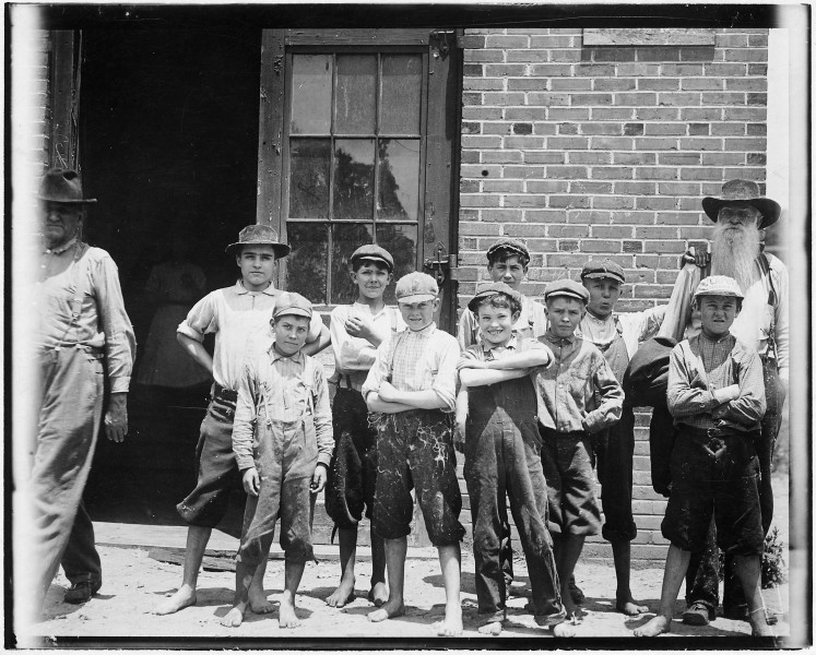Some of the youngsters in the Belton Mfg. Co. Two of the youngest. Belton, S.C. - NARA - 523544