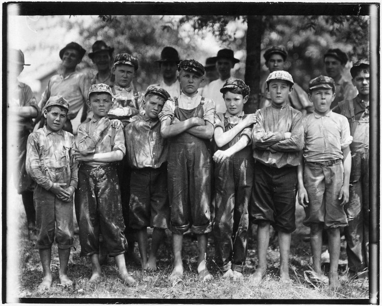 Some of the youngsters in the Belton Mfg. Co. Two of the youngest. Belton, S.C. - NARA - 523545