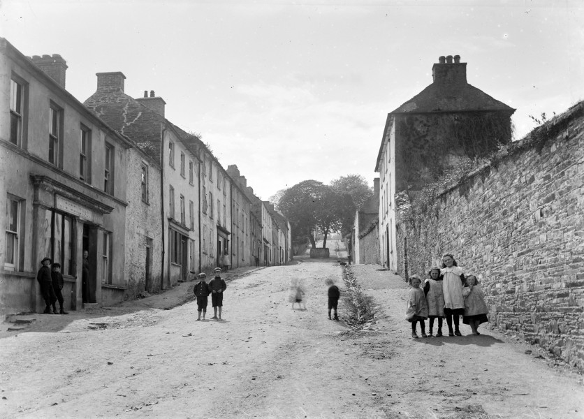 Street scene in Castletownshend County Cork Ireland (16388695225)