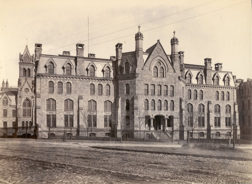 Univ of Pennsylvania Medical Hall 1890