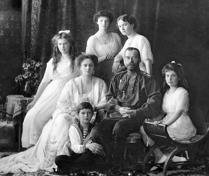 royal family of Tsar Nicholas II Photograph of the Russian Imperial Family, 1913