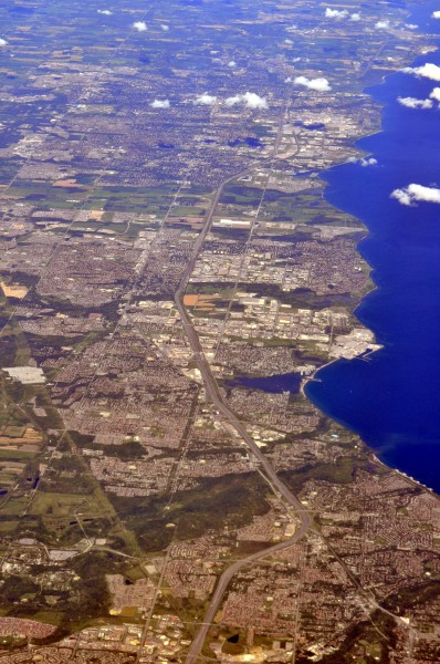 Aerial - east Scarborough Ontario to Oshawa and beyond 01 - white balanced (9660002194)