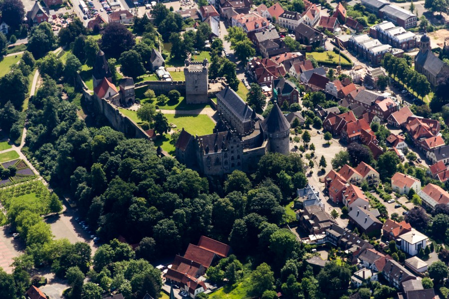 Bad Bentheim, Burg Bentheim -- 2014 -- 9533