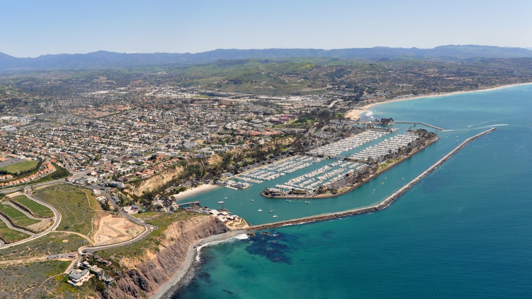Dana Point a city in southern Orange County CA Photo D Ramey Logan
