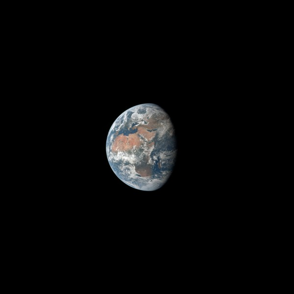 Earth as seen by Apollo 11 astronauts