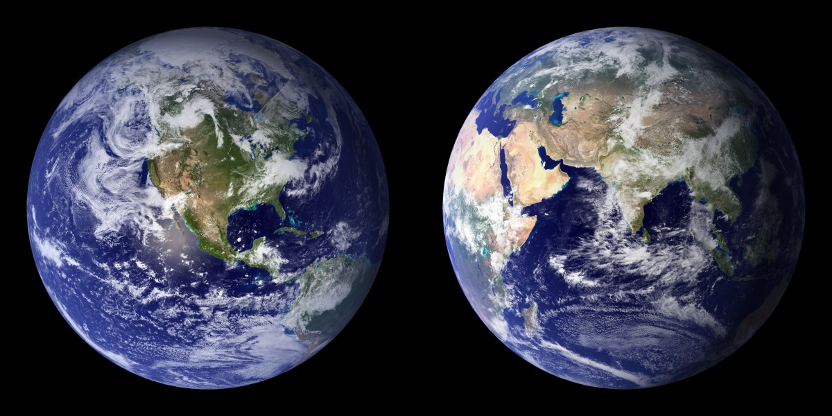 Blue Marble-2001-2002 Earth