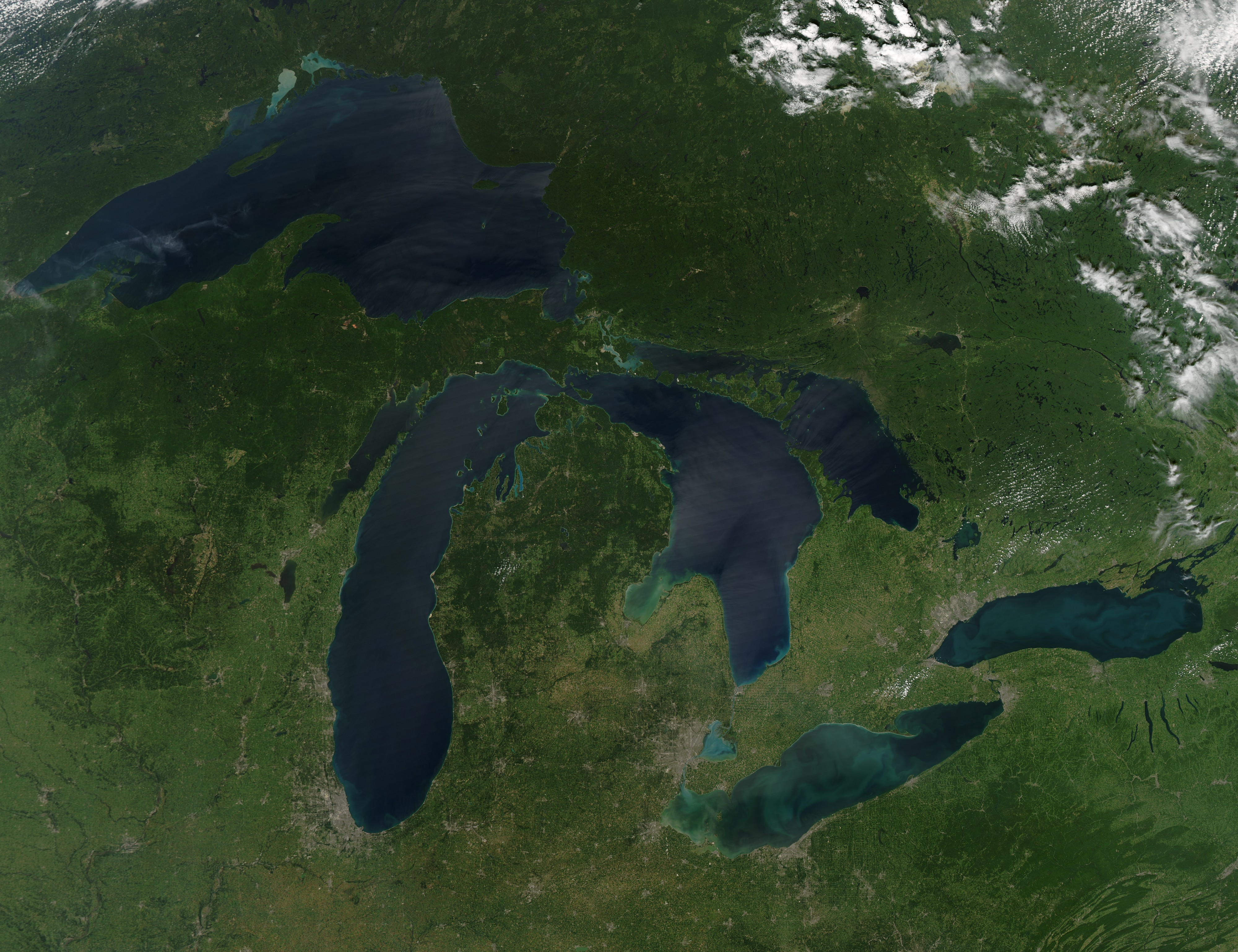 Great-Lakes-no-clouds-2010-08-28