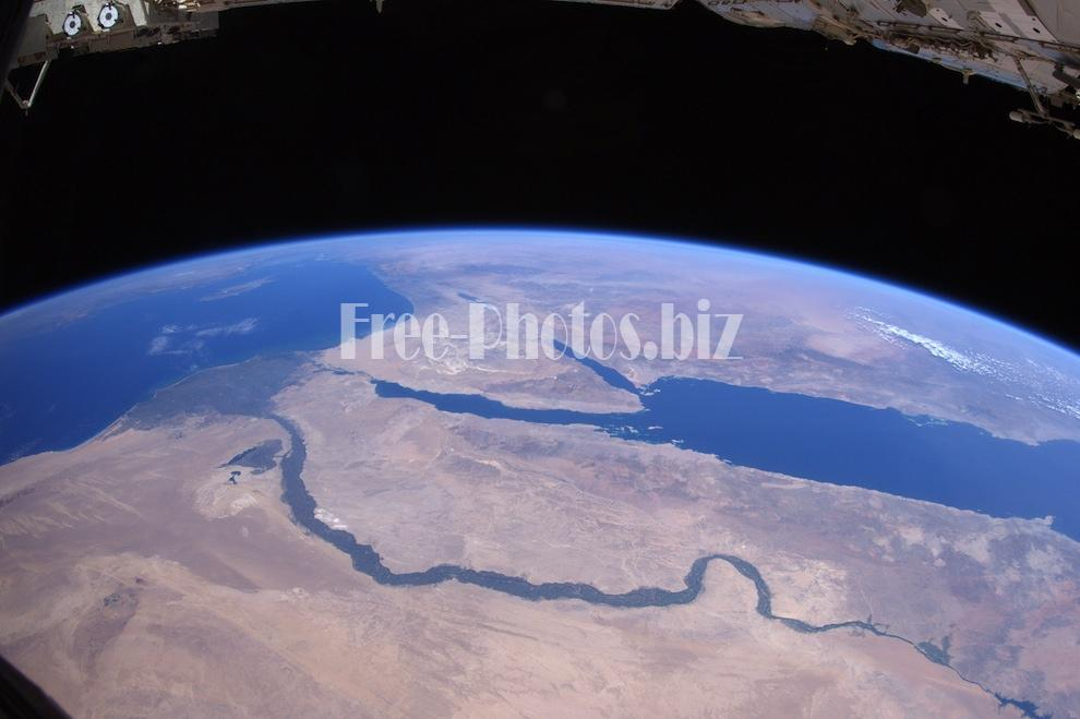 The Nile and Egypt by day