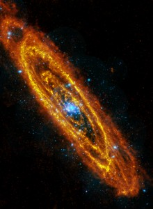 Andromeda in X-Ray and Infrared