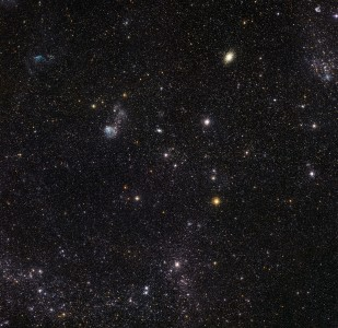 Image from ESO's La Silla Observatory of part of the Large Magellanic Cloud