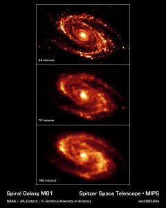Infrared Views of Messier 81