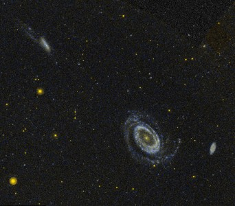 NGC 4725 4747 4712 GALEX WikiSky