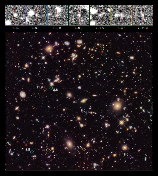 High-redshift galaxy candidates in the Hubble Ultra Deep Field 2012