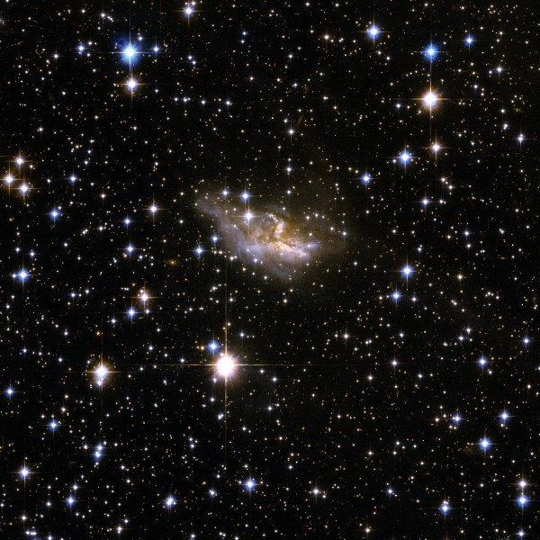 Hubble Interacting Galaxy ESO 99-4 (2008-04-24)
