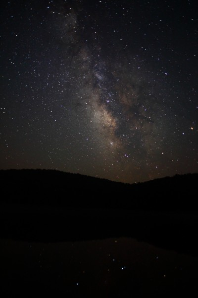 Milky-way-galaxy-mountain-sky-lake-reflection - West Virginia - ForestWander