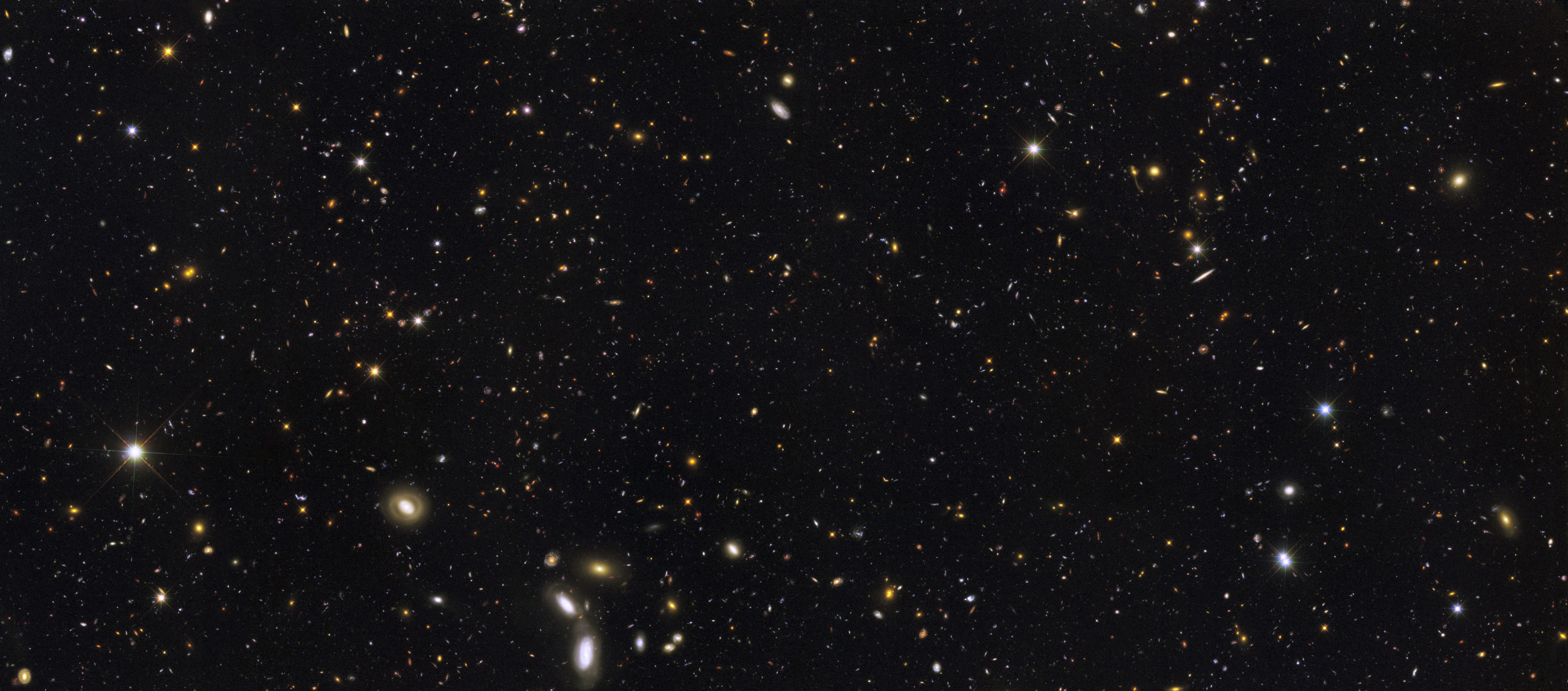 Galaxy history revealed by the Hubble Space Telescope (GOODS-ERS2)