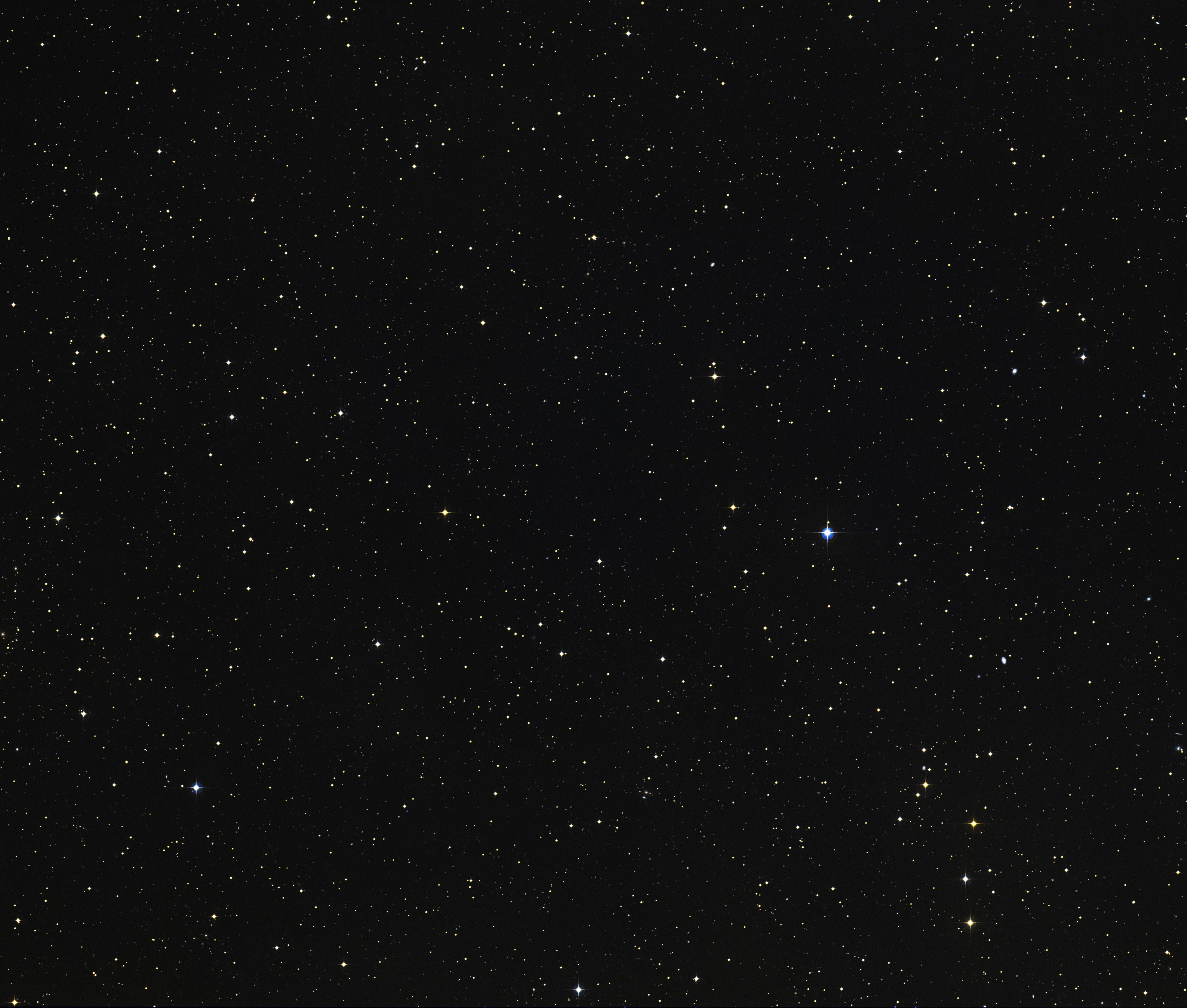 Region of Hubble Ultra Deep Field (Digitized Sky Survey)