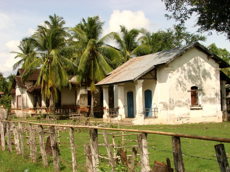 Don Khon Island - Laos - French Architecture