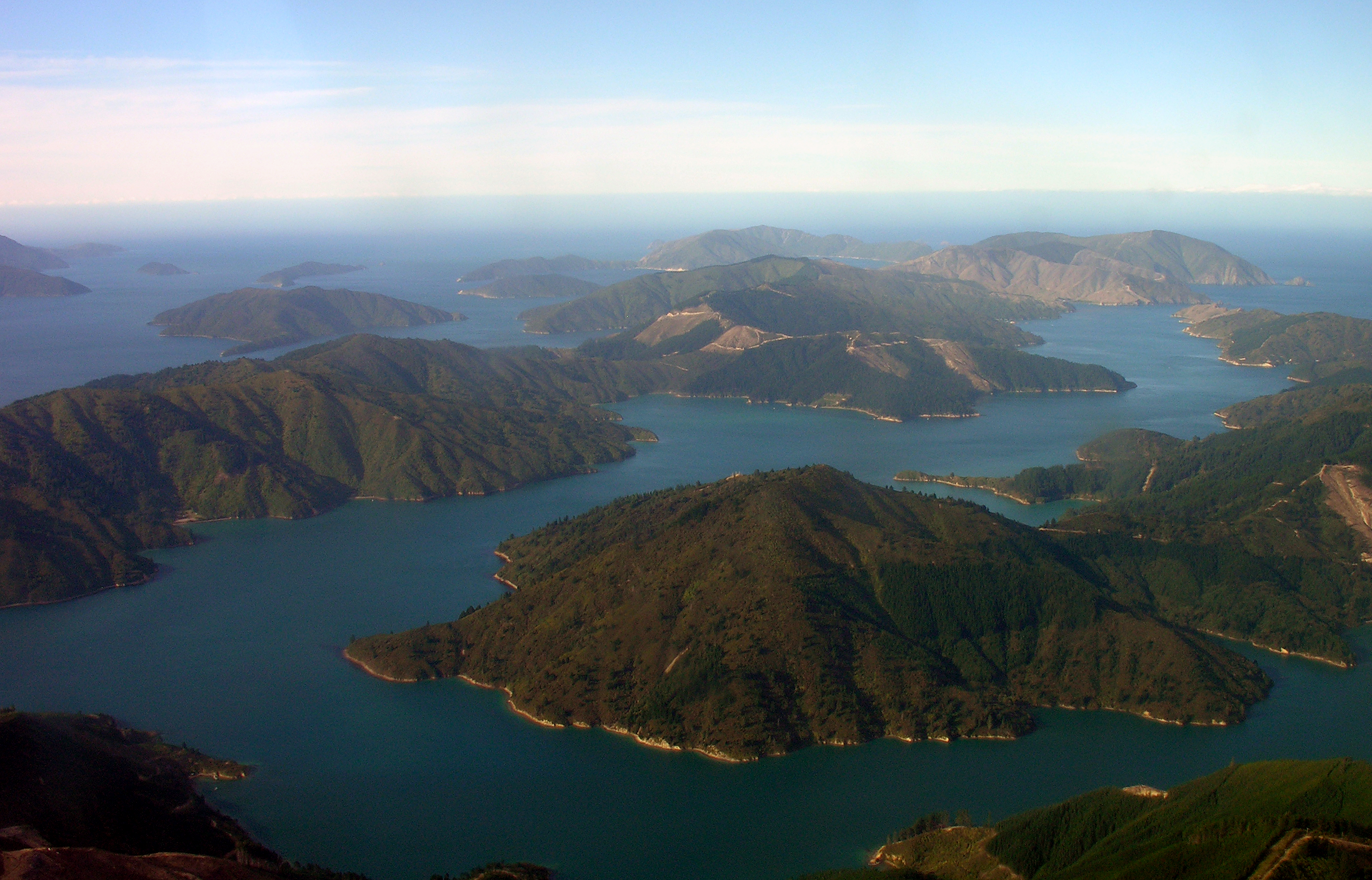 Tory Channel Marlborough Sounds