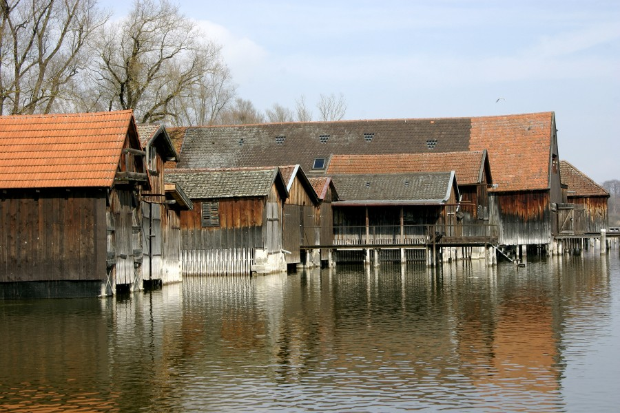 - Ammersee - Boathouses 02 -