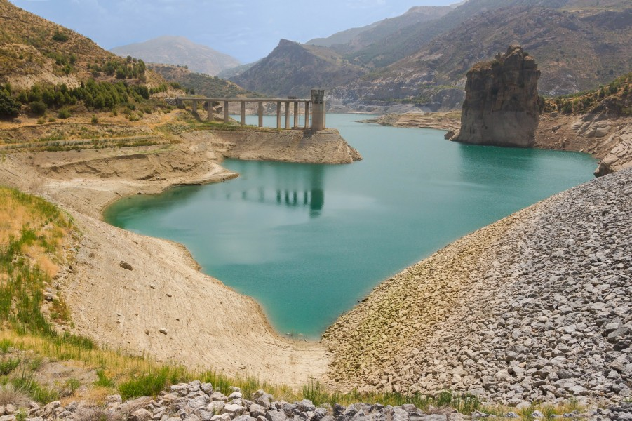 Embalse de Canales 2 Andalusia Spain