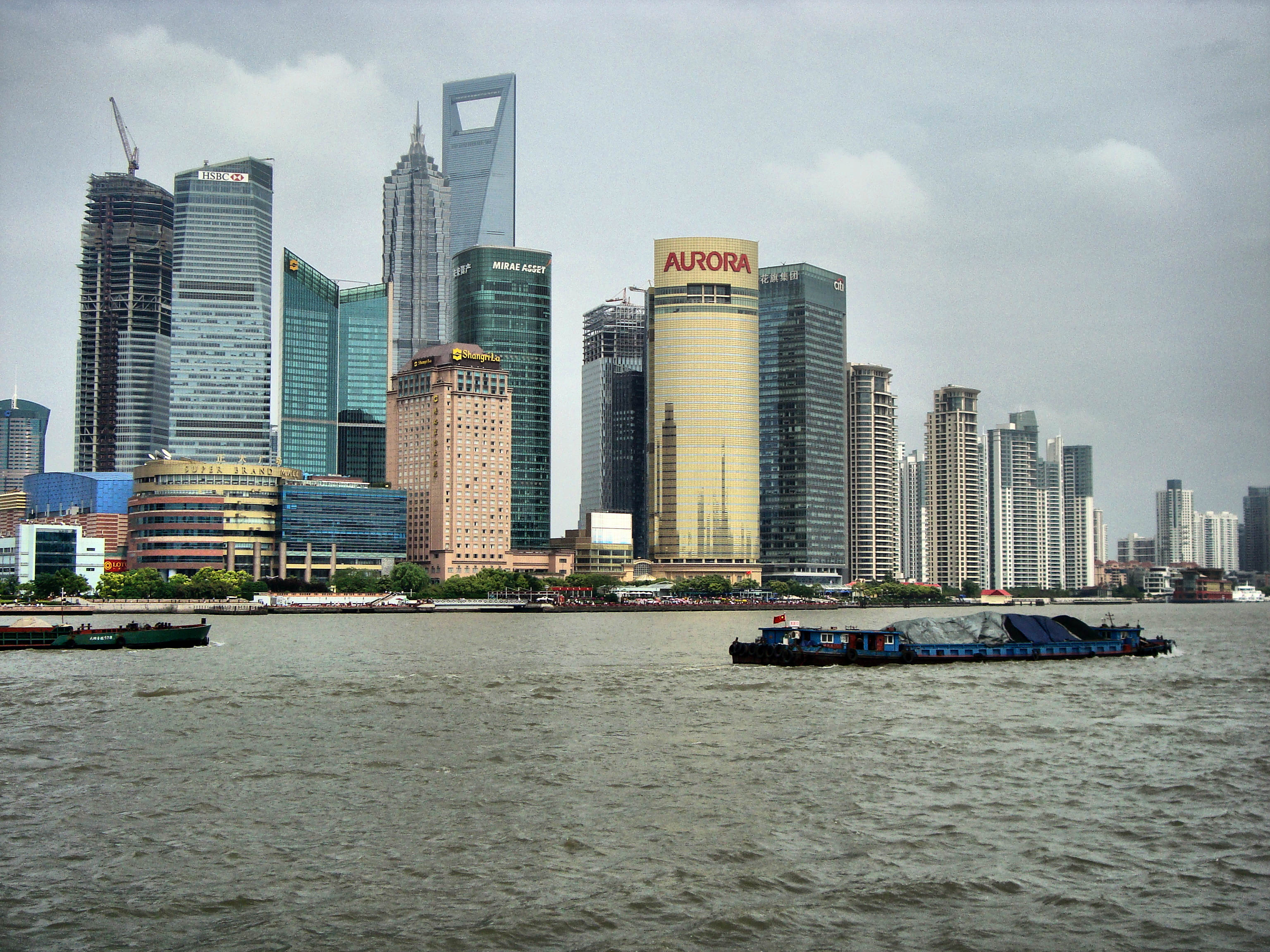 A view from The Bund .Shanghai -China - panoramio