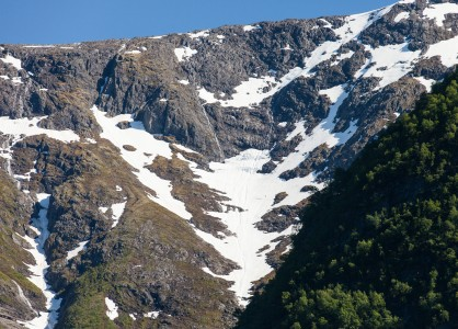 mountains around a branch of the Sognefjord, Norway, near Flåm, June 2014, picture 83