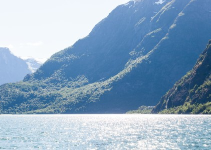 a branch of the Sognefjord, Norway, near Flåm, June 2014, picture 84