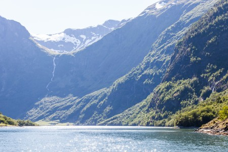 a branch of the Sognefjord, Norway, near Flåm, June 2014, picture 91