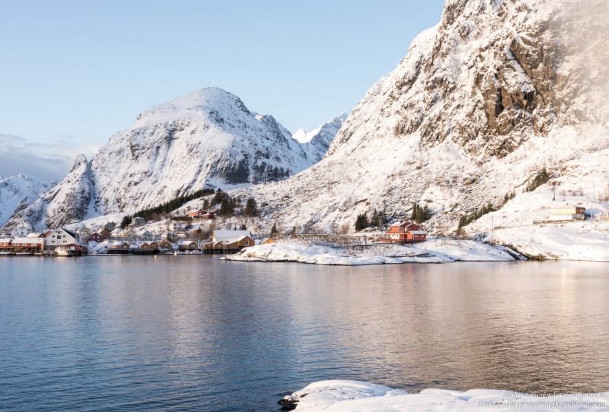 Å i Lofoten, Norway, in February 2020, photographed by Serhiy Lvivsky, picture 17
