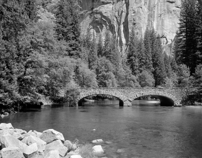Ahwanee Bridge Yosemite YNP1