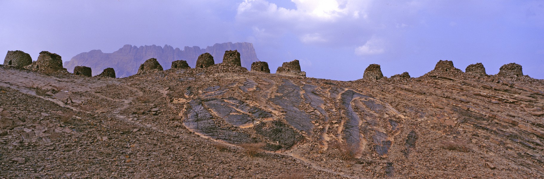 Beehive Tombs, Qubur Juhhal at Al Ayn, Oman
